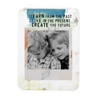 photo instagram framed inspirational quote magnet