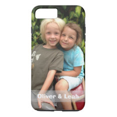 Photo Iphone 7 Plus Case at Zazzle