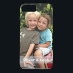 """Photo iPhone 8 Plus/7 Plus case<br><div class=""""desc"""">Add your favorite photo to this iPhone 8 Plus/7 Plus case. Change the names or delete them and the strip completely by clicking the x. If you need help with the design,  just send me a message by clicking """"ask this designer"""" below.</div>"""