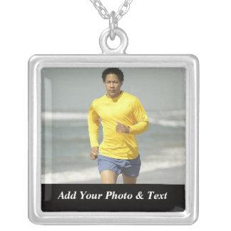 Photo Jogging Sports Necklaces