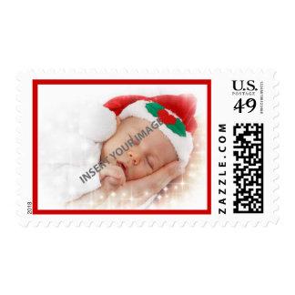 Photo Keepsake Holiday Stamps