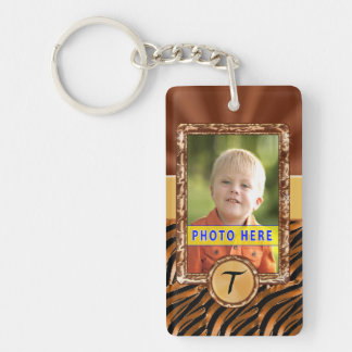 PHOTO Key Rings and Monogram Keychains in One