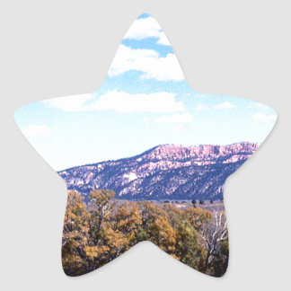Photo Landscape 4 Star Sticker