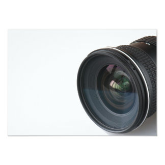 Photo lense card