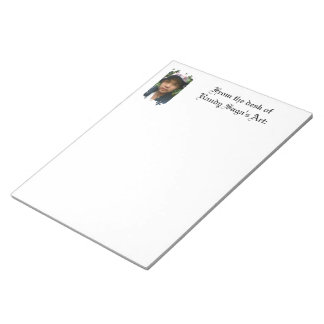 Photo Letterhead Memo Notepads