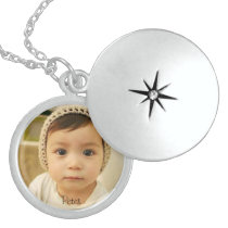 Photo Locket with Personalized Name