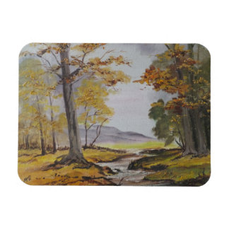 Photo Magnet Ann Hayes Painting Forest Stream