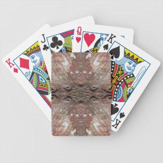 Photo-manipulation Sea Shell. Bicycle Card Decks