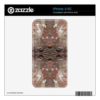 Photo-manipulation Sea Shell Skins For iPhone 4S