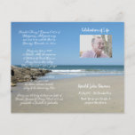 """Photo Memorial Funeral Order of Service Program<br><div class=""""desc"""">Customize with your text &amp; photo - Programs are double sided and will be Folded when complete,  make sure your text is centered to half page / foldline when editing - Graphic Design by KDArtStudio c.2017</div>"""