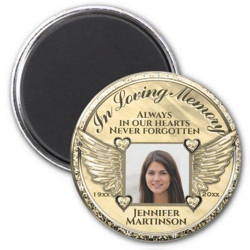 Photo Memorial in Loving Memory  Magnet