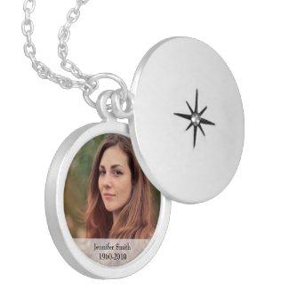 Photo Memorial Keepsake Necklace