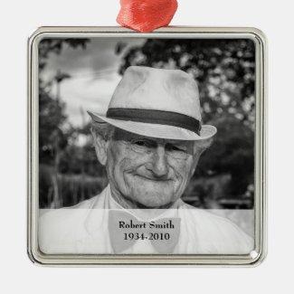 Photo Memorial Keepsake Ornament