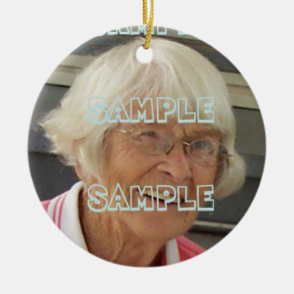 Photo Memorial Ornament