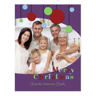Photo Merry Christmas Postcards Modern Decorations