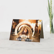 Photo Modern Personalizable Christmas Holiday