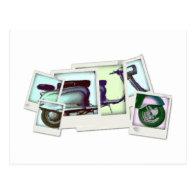 photo montage postcard