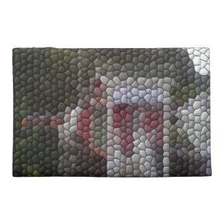 Photo mosaic travel accessory bag