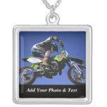 Photo Motocross Sports Necklaces