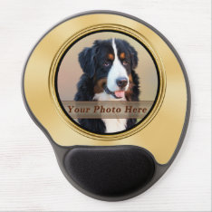 Photo Mouse Pad, Comfortable Wrist Support Gel Pad Gel Mouse Pad at Zazzle