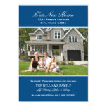 """Photo Moving Announcements   Our New Home 5"""" X 7"""" Invitation Card"""