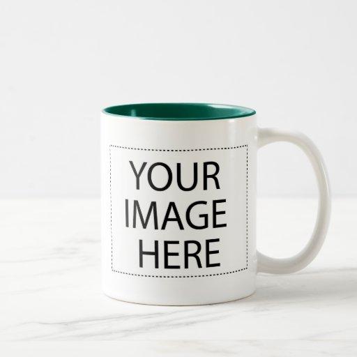Photo mug - forest green 11oz template