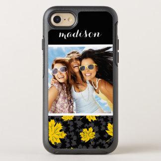 Photo & Name Beautiful autumn background OtterBox Symmetry iPhone 7 Case