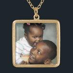 """Photo Necklace<br><div class=""""desc"""">Feature your favorite photo in this unique necklace!</div>"""