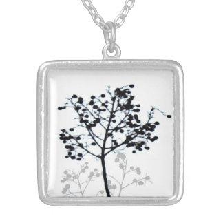 photo necklace black and white original nature art