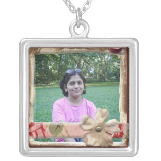Photo Necklace - Pink
