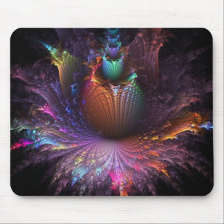 Photo-Negative Flower Explosion Mouse-pad Mouse Pad