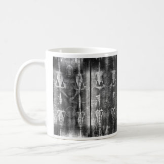 Photo Negative Picture of the Shroud of Turin Classic White Coffee Mug