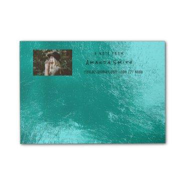 McTiffany Tiffany Aqua Photo Note Name Ocean Tiffany Aqua Metallic