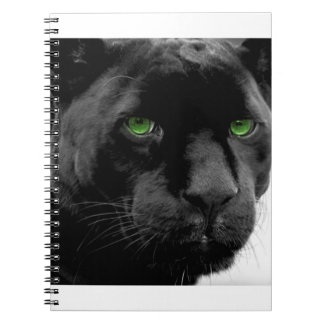 Photo Notebook (80 Pages B&W) PANTHER, CAT.