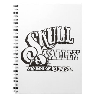 Photo Notebook (80 Pages B&W) w/ Skull Valley Logo