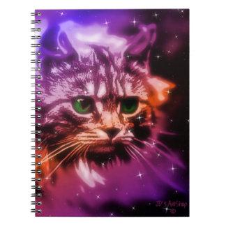 Photo Notebook w/CelestialCat