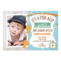Photo O Fish Ally Birthday Invitation