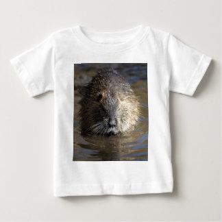 Photo of a coypu (Myocastor coypus) in water. T-shirt