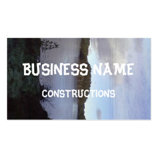 Photo of a Small Lake Business Card Template