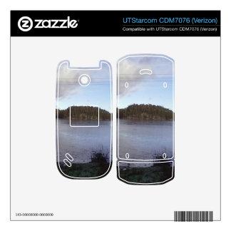 Photo of a Small Lake UTStarcom Phone Decals