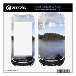 Photo of a Small Lake Nokia Astound Decals