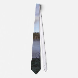 Photo of a Small Lake Tie