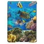 Photo of a tropical Fish on a coral reef iPad Air Covers