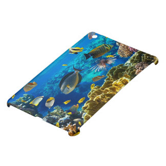 Photo of a tropical Fish on a coral reef iPad Mini Covers