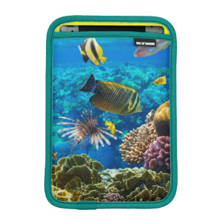 Photo of a tropical Fish on a coral reef iPad Mini Sleeve