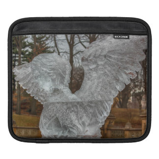 Photo of Angel Ice Sculpture in Central Park Sleeves For iPads