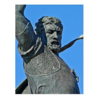 Photo of Balboa Park statue of El Cid User:Stan Sh Postcard