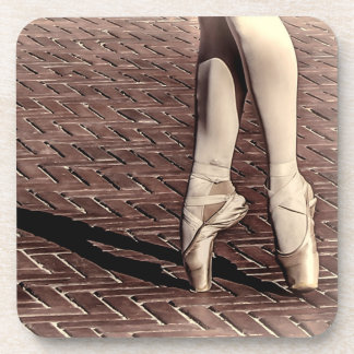 Photo of Ballet Slippers Beverage Coaster