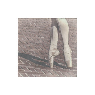 Photo of Ballet Slippers Stone Magnet