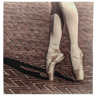 Photo of Ballet Slippers Printed Napkins